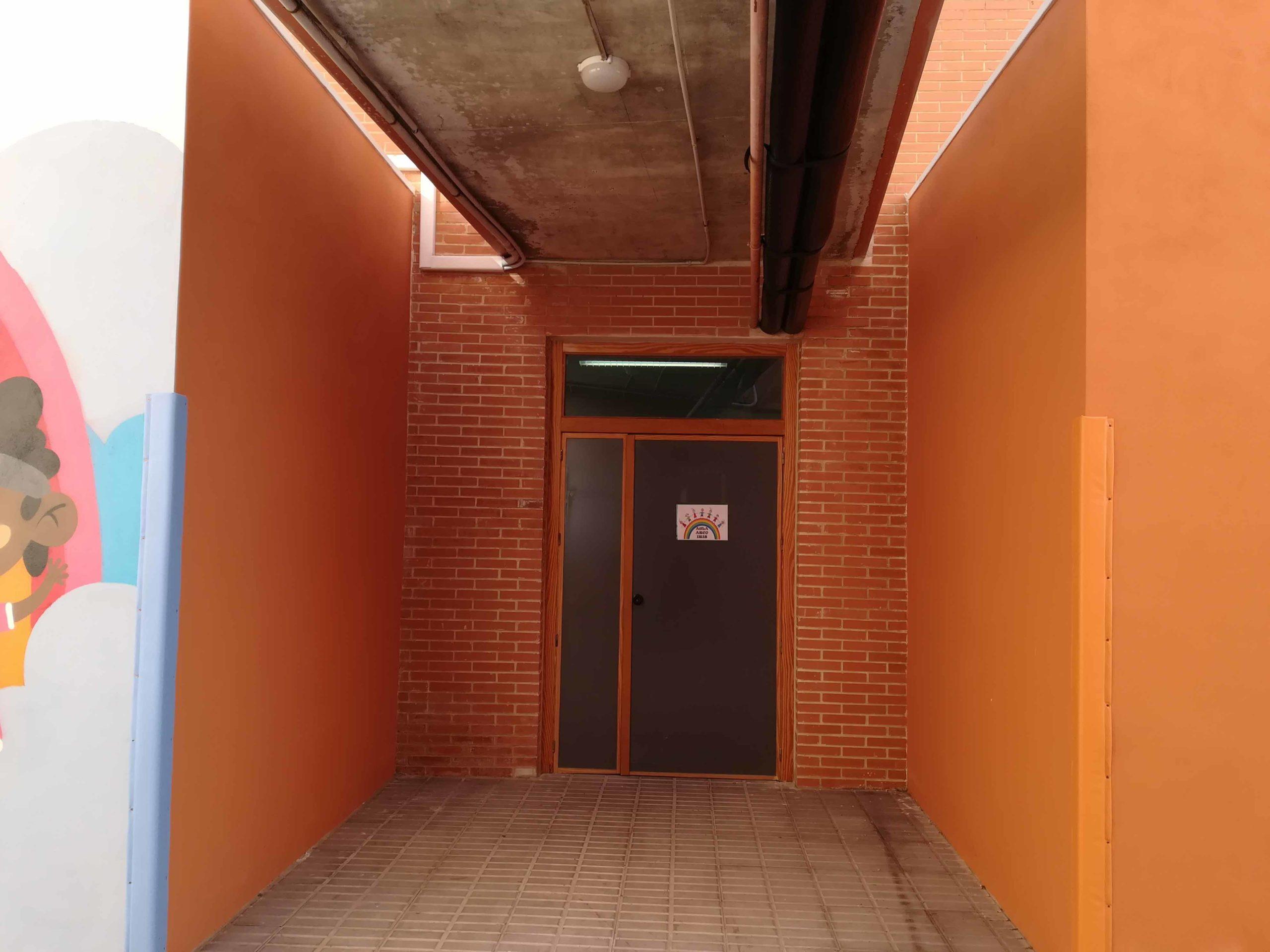 Puerta de Acceso al Aula