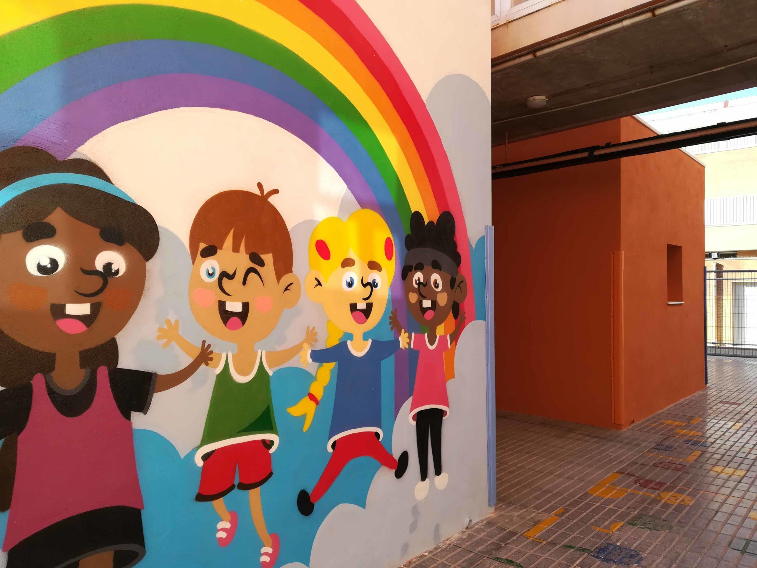 Mural Arco Iris