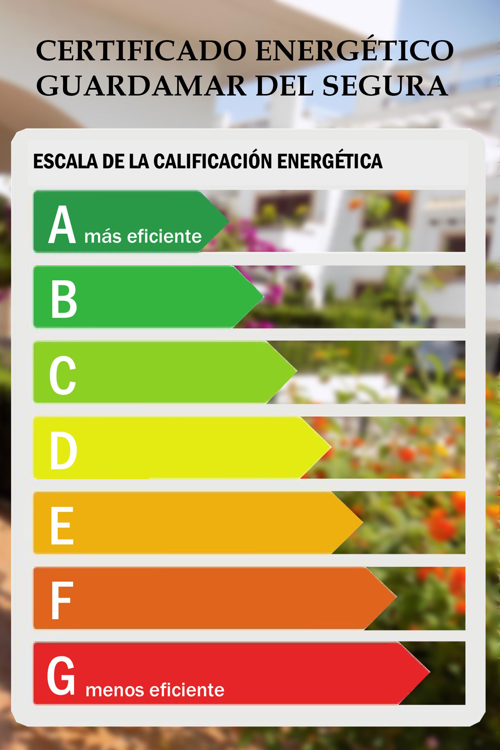 Certificado energético Guardamar del Segura